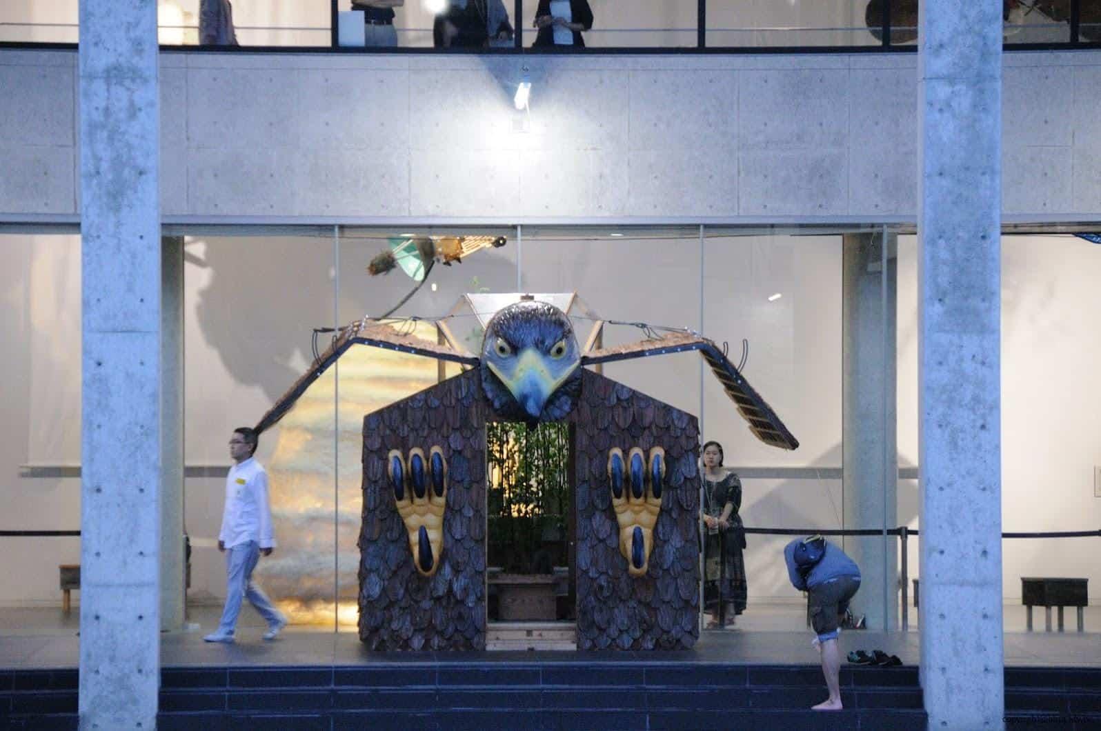 原廣司+ATELIER建築研究所,越後妻有里山現代美術館,2018企劃展「方丈記私記」,千變萬化的方格世界,讓藝術家們在長寬高皆約3公尺的「一方丈」空間裡,打造出他們想像中的世界 越後妻有里山現代美術館 越後妻有里山現代美術館 echigo tsumari kouryukan echigo tsumari exchange center 10