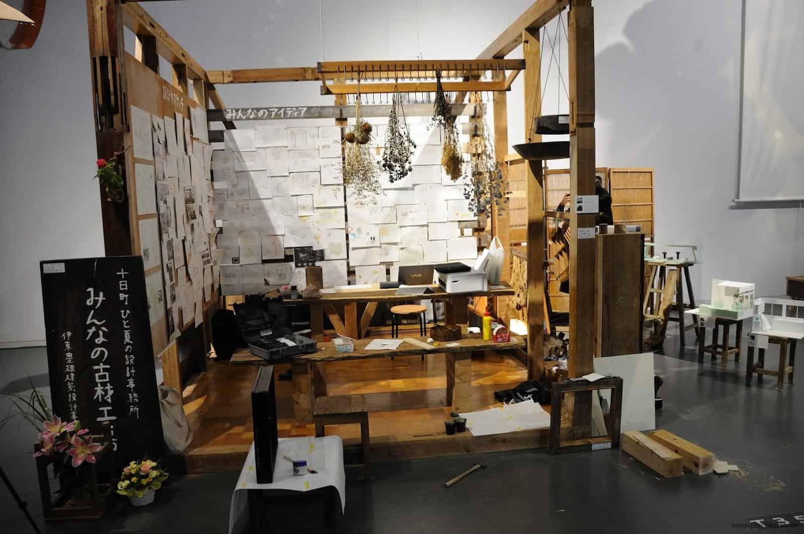 原廣司+ATELIER建築研究所,越後妻有里山現代美術館,2018企劃展「方丈記私記」,千變萬化的方格世界,讓藝術家們在長寬高皆約3公尺的「一方丈」空間裡,打造出他們想像中的世界 越後妻有里山現代美術館 越後妻有里山現代美術館 echigo tsumari kouryukan echigo tsumari exchange center 16