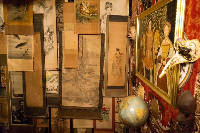 豊福亮,黃金遊戲場,違和的錯亂彷彿進入另一個異次元空間;中國的書畫字帖 黃金遊戲場 黃金遊戲場 golden playroom 04