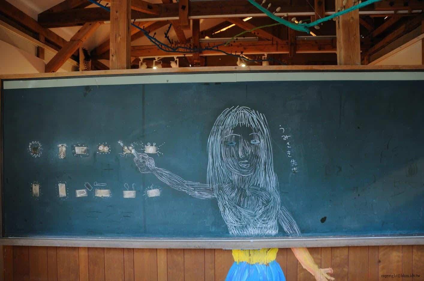 田島征三,繪本和樹木果實美術館,以「學校不是空的喔!」為主題 繪本和樹木果實美術館 繪本和樹木果實美術館 hachi seizo tashima museum of picture book art 07