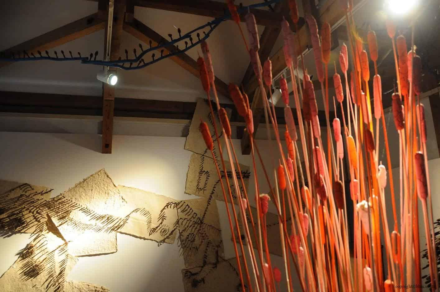 田島征三,繪本和樹木果實美術館,以「學校不是空的喔!」為主題 繪本和樹木果實美術館 繪本和樹木果實美術館 hachi seizo tashima museum of picture book art 08