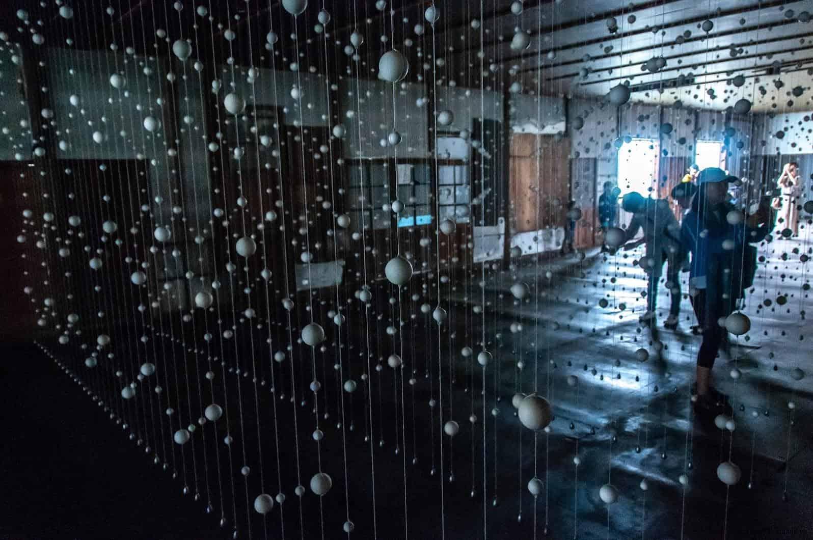 達米安‧奧爾特加,Warp Cloud,穿梭於藝術作品中,觀者看作品,也變成作品被別人看 warp cloud Warp Cloud warp cloud 03